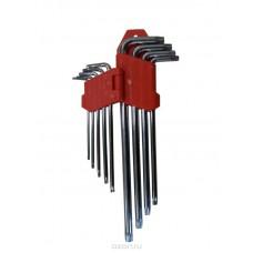 Набор имбусовых средних ключей CRV 1.5-10мм (9шт)