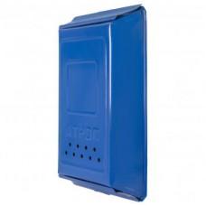 Почтовый ящик узкий (коричневый, зеленый, синий)