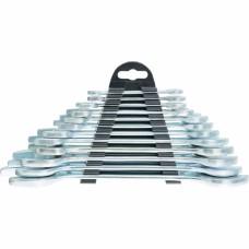 Набор ключей рожковых 6-17мм (6шт) хромированные Sparta